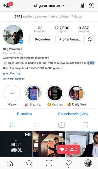 volgers instagram